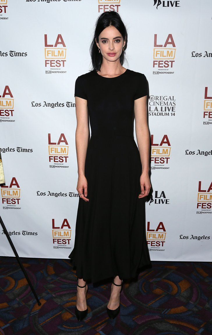 Pin for Later: It's a Celebrity White Party —and You're Invited Krysten Ritter Krysten Ritter at the Los Angeles Film Festival.