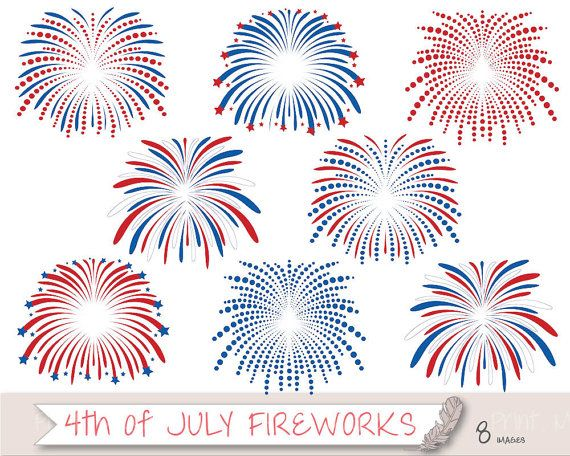 4th july graphics clipart