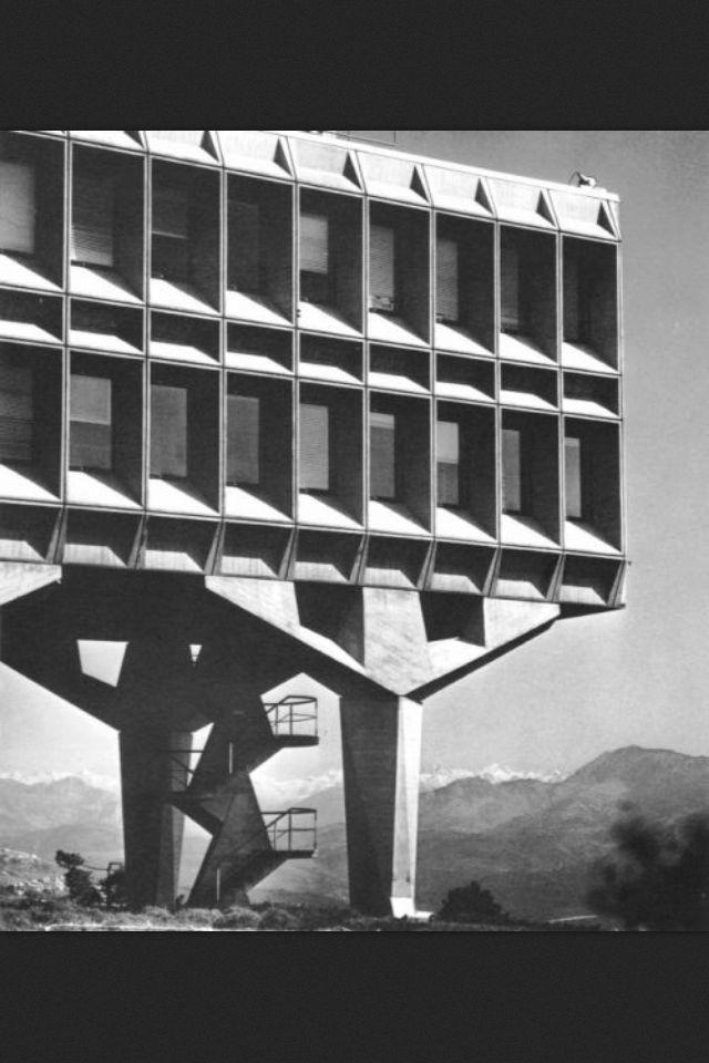 IBM France Research Center, La Gaude, France, 1958-62 // architect: Marcel Breuer & Associates.