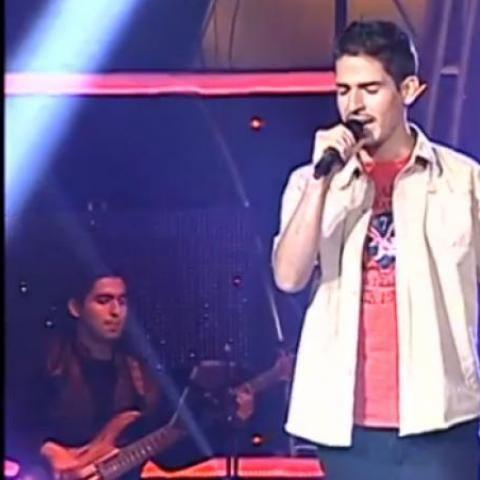 Raúl Bustios logró ser escogido como parte del programa tras cantar el opening de Dragon Ball Z.