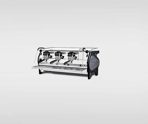 La Marzocco Strada - $16,445.00  The flagship machine gives unprecedented control to the barista.  In addition to saturated brew groups, stainless steel boilers and PID system, the Strada gives direct control of bar pressure at any point during extraction.