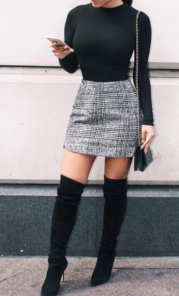 short winter dresses with boots
