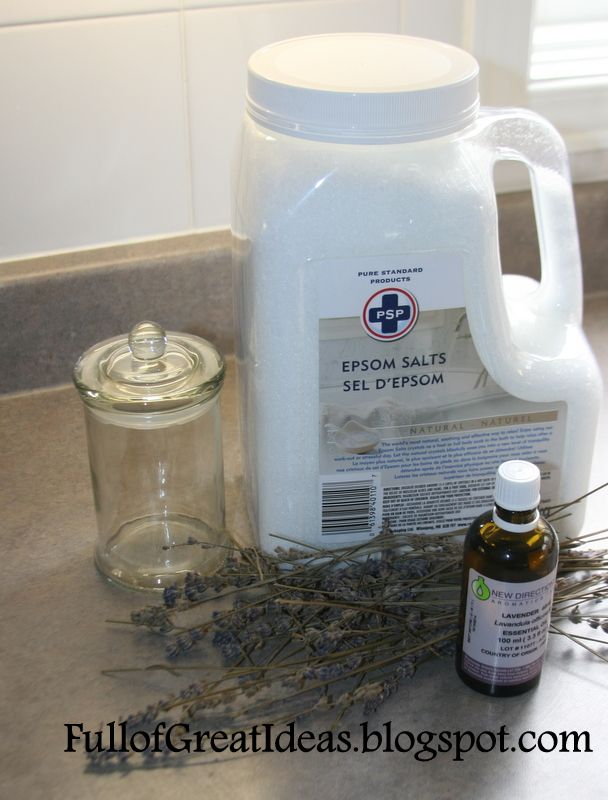 DIY Scented Bath Salts- very easy and inexpensive gift idea :: Hometalk