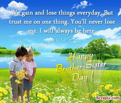 happy siblings day quotes | Happy Brother-Sister Day Graphics