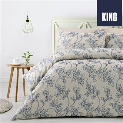 Clara Jacquard King Quilt Cover Set, $39 plus postage from dealsdirect.