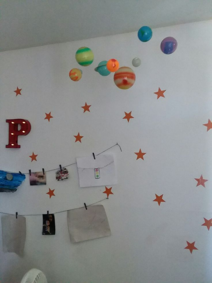 Hanging glow in the dark Planets @ Land of Nod