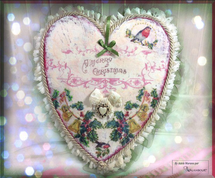 #hearts #shabby #xmas #christmas https://www.facebook.com/media/set/?set=a.773186882770330.1073741873.326557204099969&type=3&uploaded=1 https://www.facebook.com/decoupage.calambour?fref=ts http://it.pinterest.com/dcalambour/shabby-christmas-decoupage/