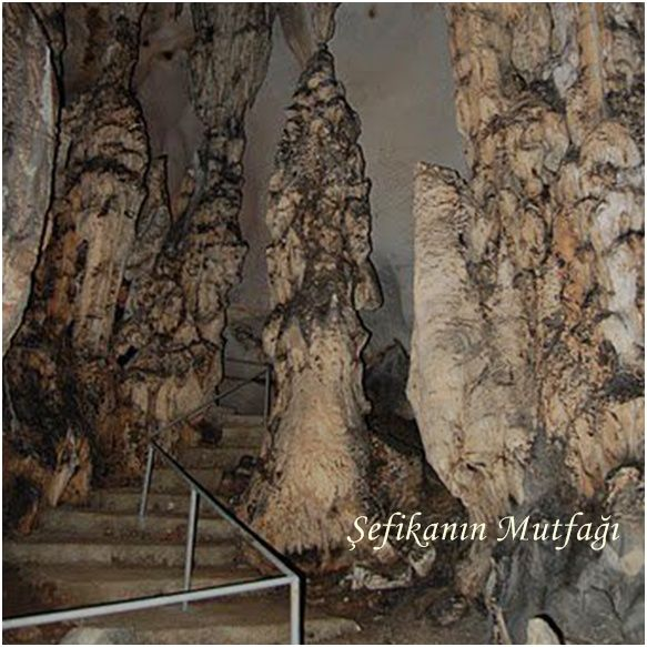 Yalan Dünya Mağarası, #Gazipaşa, #Antalya - #Turkey The Yalan Dünya #cave is a very deep cave.ıt ıs sitvated in the Toros Mountains.İt is approximately 5 million years old.Stalagmites and stalagtites show the age.The cave occurs in lıme stone and you can well as perpendicular.The cave is between 3 to 4 km.deep but only 450 meters is open to the public at present due to a collarse of the ceilling in 1950 The cave has a high moisture content which helps sufferers of Asthma to breath easily