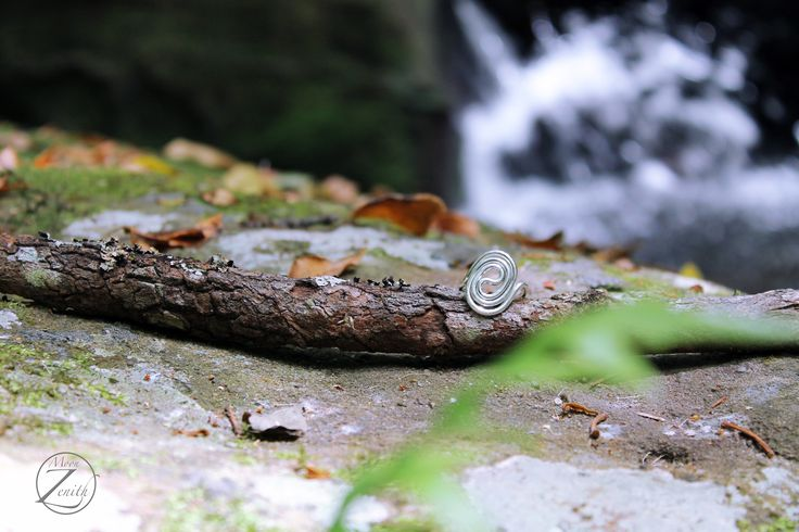 Sterling silver ring.  Be in harmony with nature