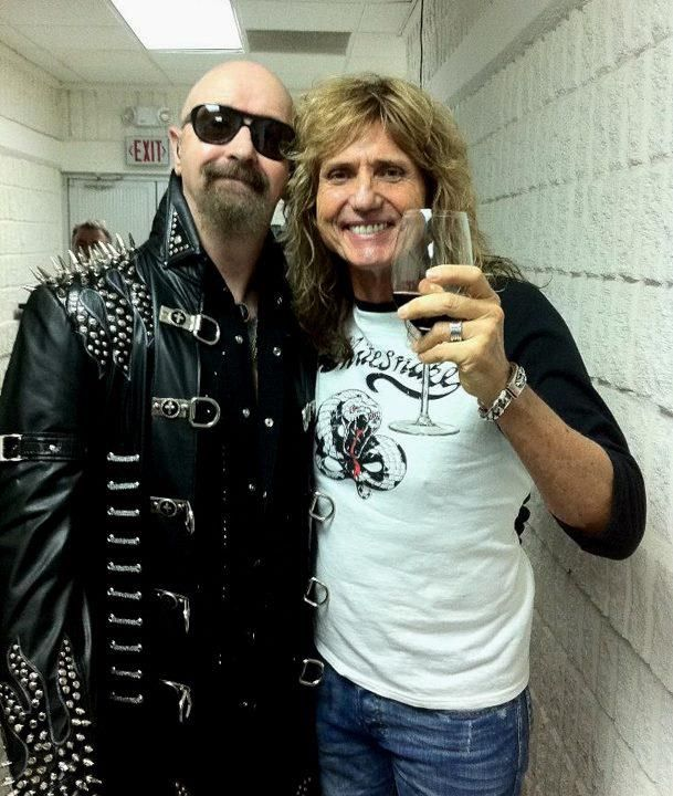 Rob Halford and David Coverdale Amazing show !