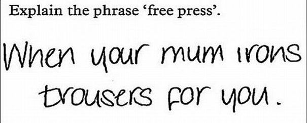 23 Hilarious Test Answers From Some Seriously Clever Kids 39 - https://www.facebook.com/diplyofficial