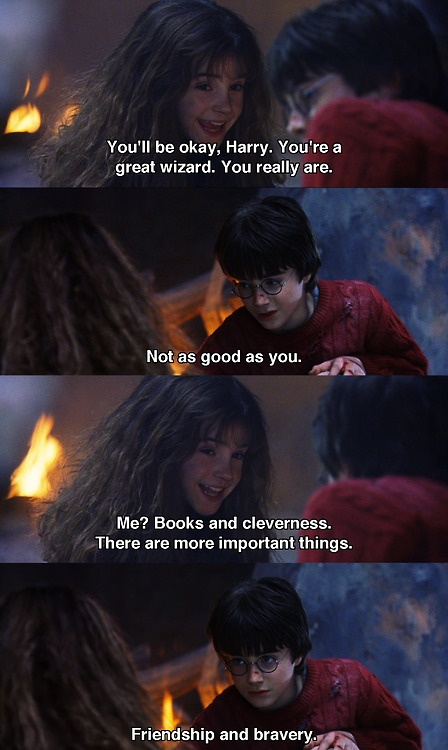 Harry Potter and the Sorcerer's Stone, One of my favorite parts of the movie