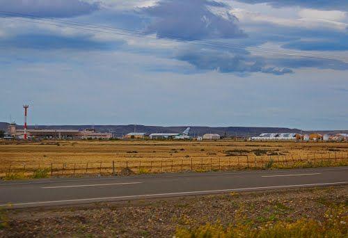Aeropuerto de Río Gallegos, Santa Cruz, Argentina.