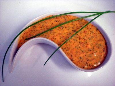 Afrikanische Auberginencreme (Vegan Dip Healthy)