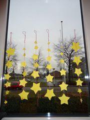 Kerst - sterren van klein naar groot