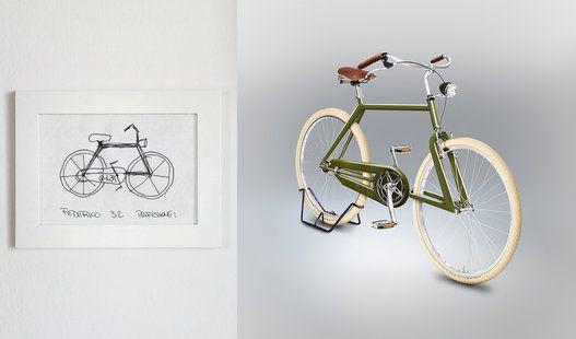 PHOTOS. Ces vélos dessinés à main levée ne rouleraient pas bien loin s'ils existaient