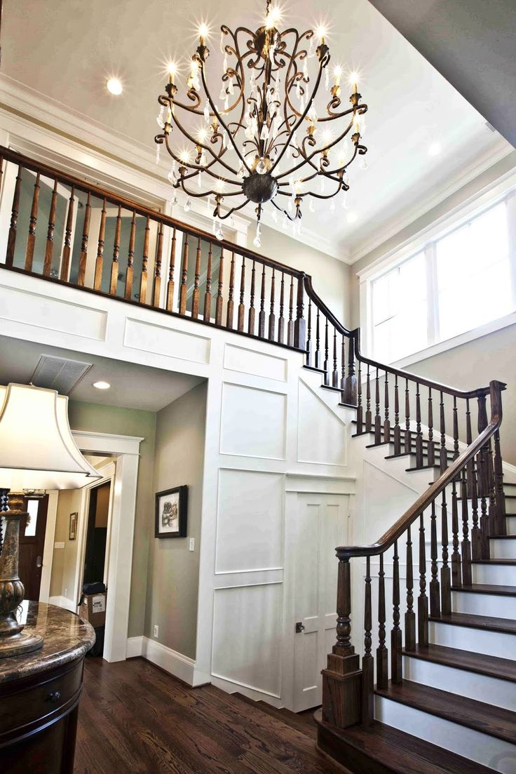 scale it down for us.  Note the door under the stairs: perhaps that would be the powder room access? Cedar Hill Ranch: Craftsman Home Style