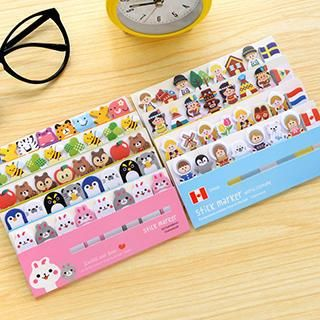 Buy Show Home Cartoon Memo Stickers at YesStyle.com! Quality products at remarkable prices. FREE WORLDWIDE SHIPPING on orders over 310 NOkr.