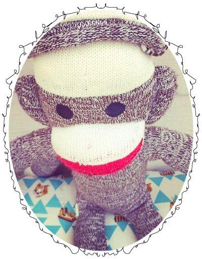 DIY #sokaap #sockmonkey | Kinderkamerstylist