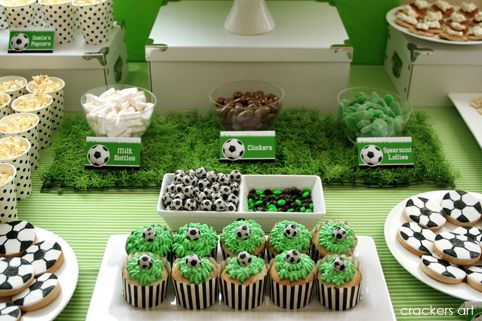 Karo's Fun Land: Soccer Theme Birthday Party