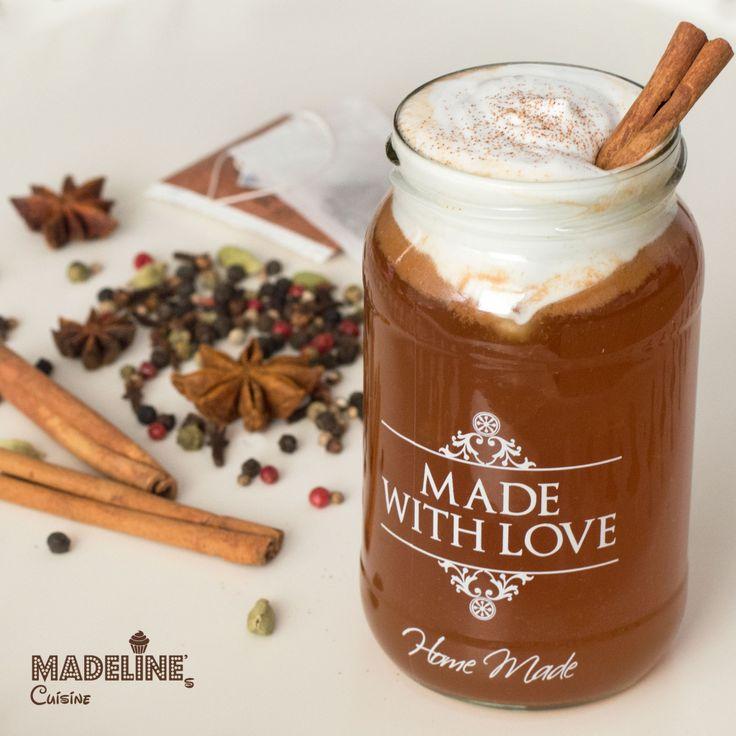 Chai latte - Madeline's Cuisine