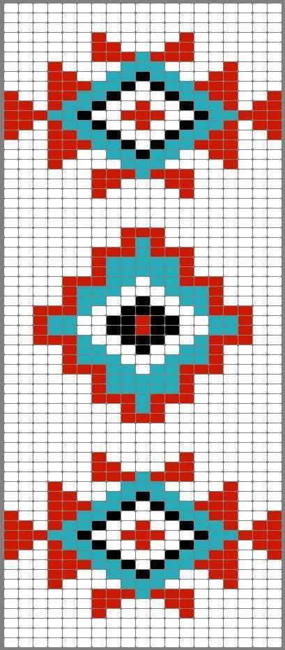 Wayuu Mochilla Bag Chart 48 - Mimuu.com