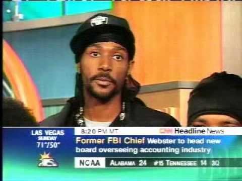 CNN Headline News - Bone Thugs N Harmony On Front Row