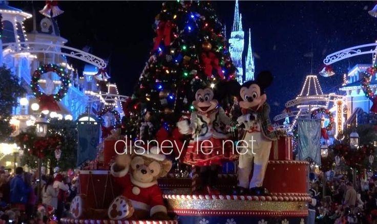 ミッキーのワンス・アポン・ア・クリスマスタイム・パレード