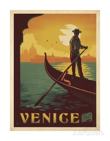 Venise, Italie Posters par Anderson Design Group sur AllPosters.fr