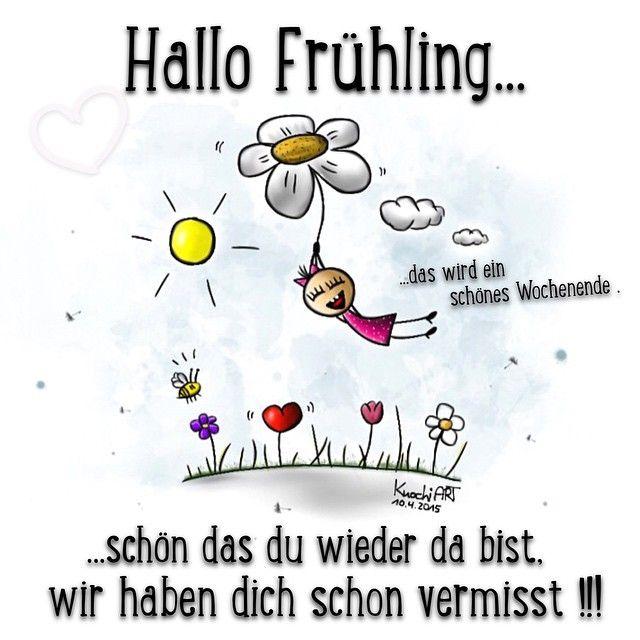 ☀️ #HALLO #FRÜHLING 💋  schön das du wieder da bist,wir