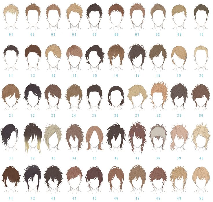 Marvelous 1000 Ideas About Anime Hairstyles Male On Pinterest Hairstyles For Women Draintrainus