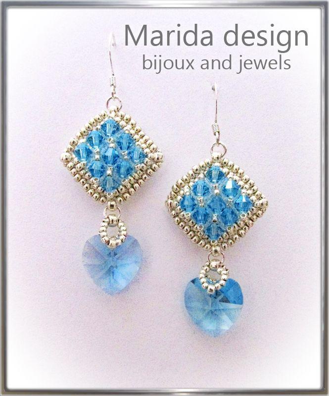"""Princess Elsa"" earrings"