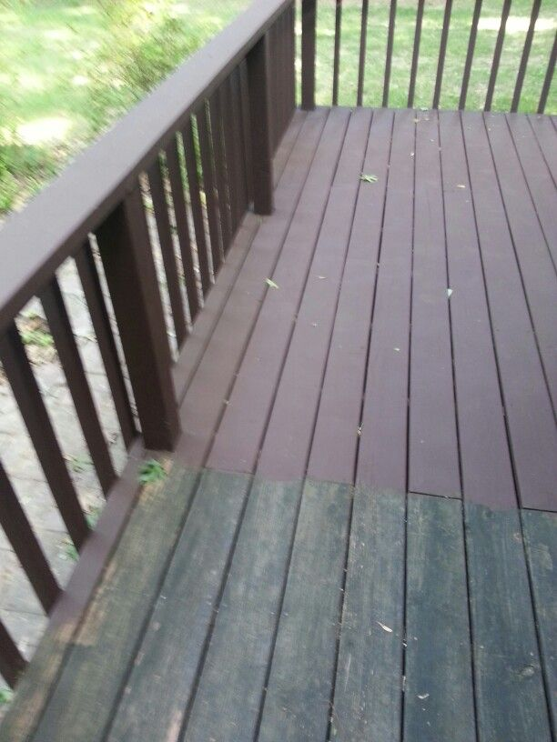 Behr Deck Paint Made My Look Brand New