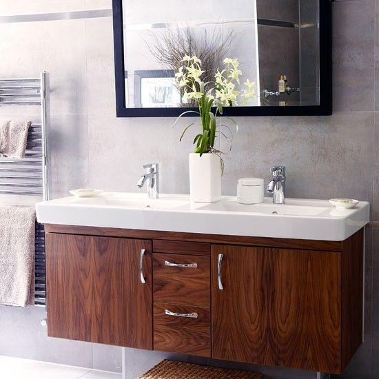 Die besten 25 badezimmer zwei waschbecken ideen auf pinterest neutrale badezimmerfarben - Badezimmer zwei waschbecken ...