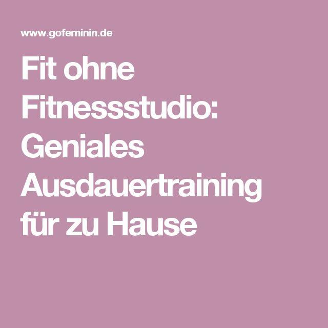 Fit ohne Fitnessstudio: Geniales Ausdauertraining für zu Hause