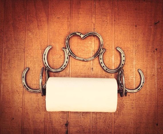 Hey, I found this really awesome Etsy listing at https://www.etsy.com/listing/176973674/horseshoe-paper-towel-holder