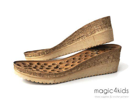 competitive price 20bd1 0192c Keile Sohlen mit Einlagen - hohe Qualität, Sohlen für Schuhe ...