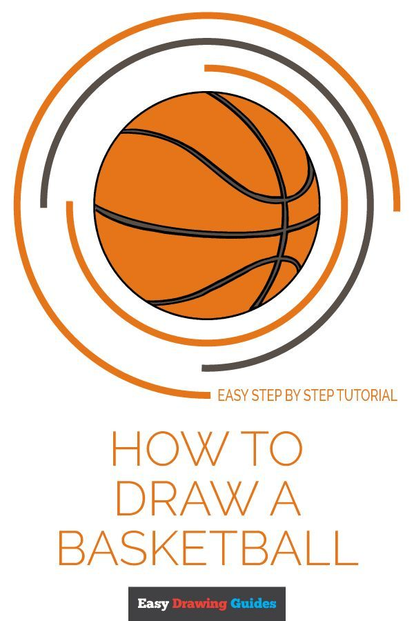 How To Draw A Basketball Really Easy Drawing Tutorial Learn To