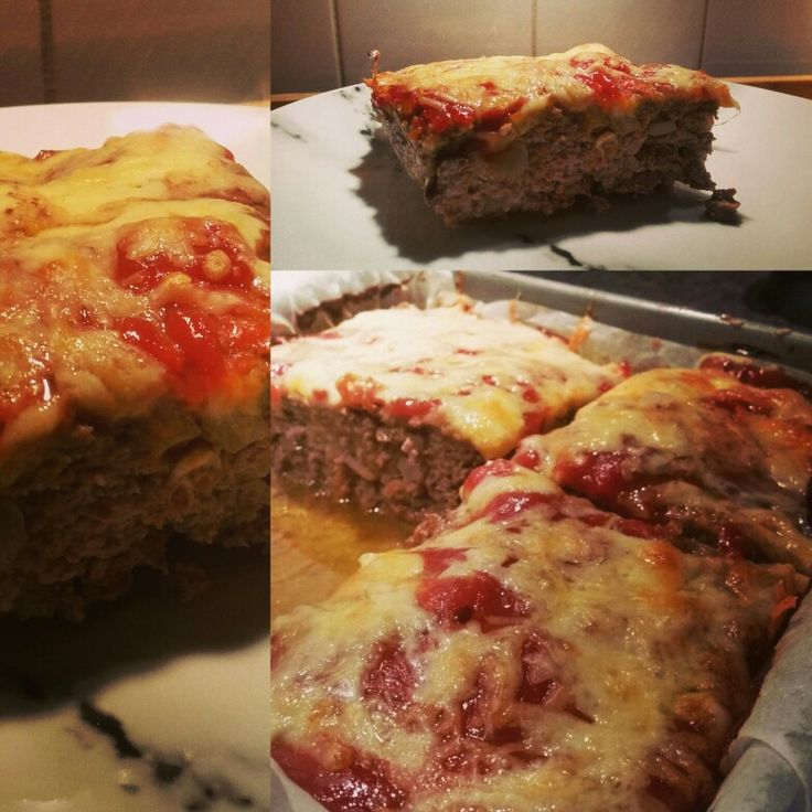 Homemade meatloaf  Message for recipe.