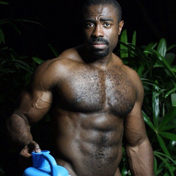 Hairy black men pics