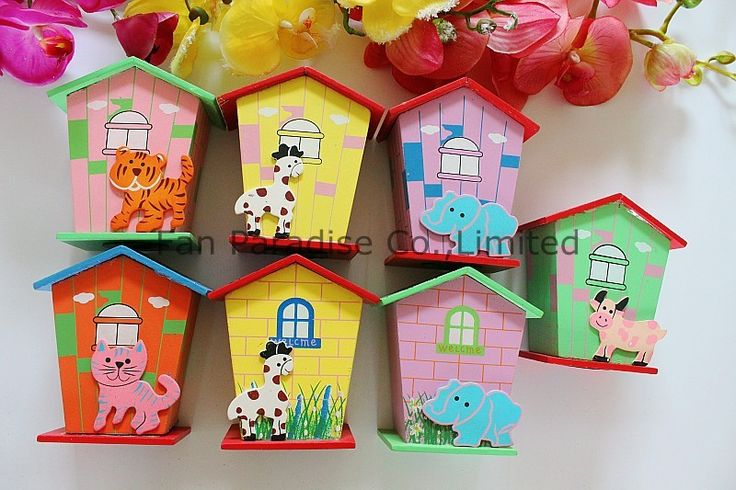 ==> [Free Shipping] Buy Best 3pcslot Children Kids Coin Bank Wooden Saving Money Box Online with LOWEST Price | 32363486934