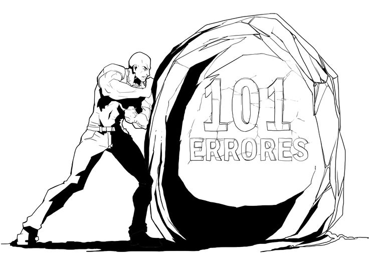 101 Errores que hacen los Pymes con su #MarketingOnline