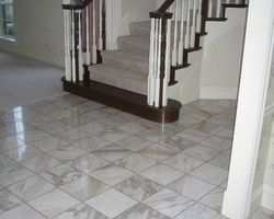 Calacatta Marble Floor