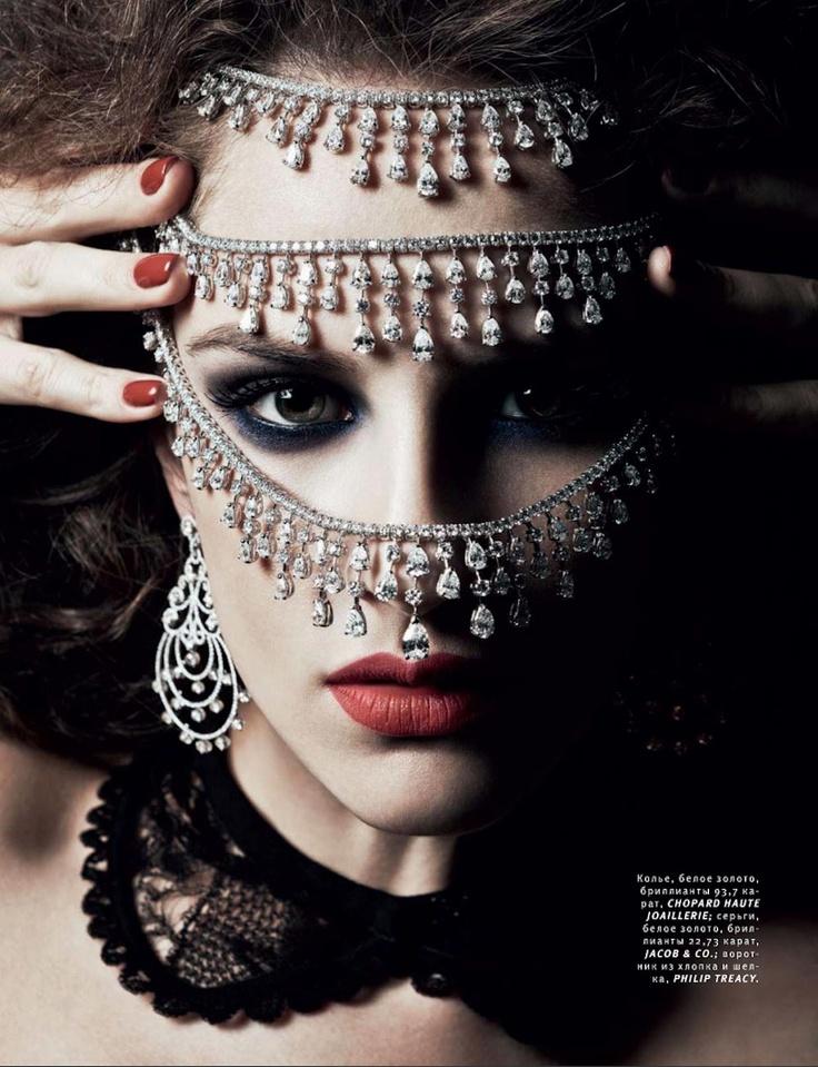 Danil Golovkin for Vogue Russia December 2012