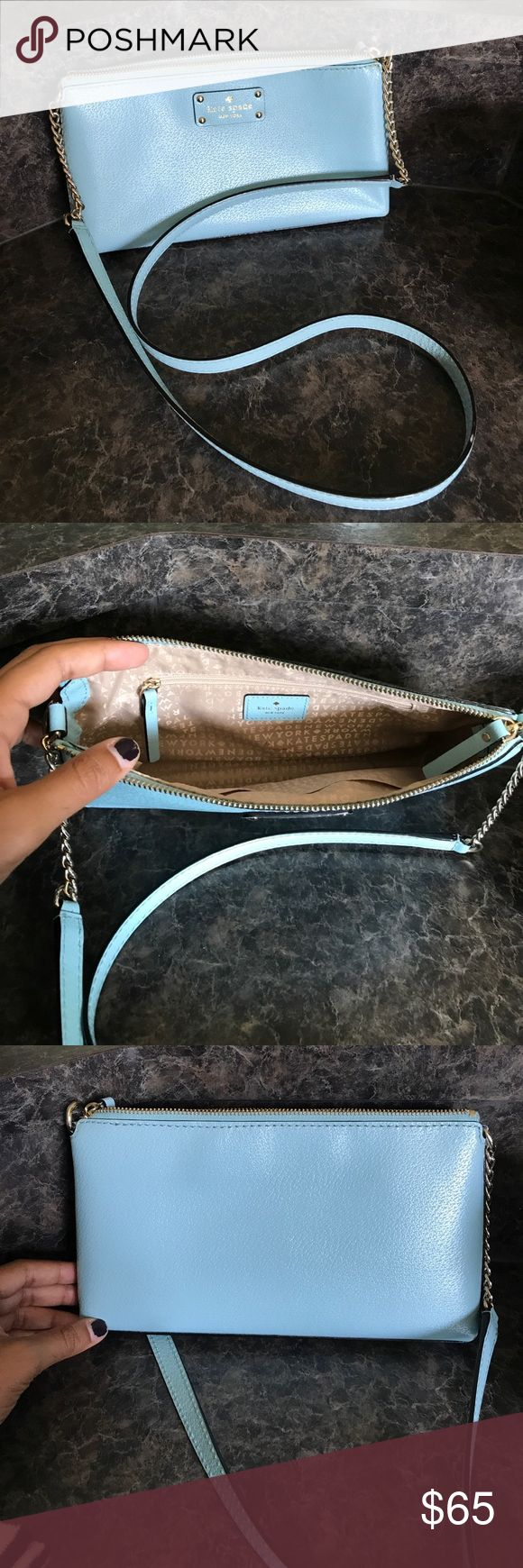 Kate Spade purse Light blue purse kate spade Bags Crossbody Bags