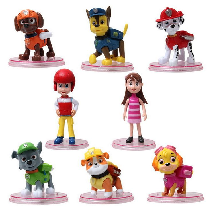 8pcs/lot juguetes Kids Toys Action Figure Animal patrulla canina toys Puppy Patroles Dogs Baby Gift Doll Birthday Movable Joints //Price: $US $8.98 & FREE Shipping //     #rchelicopters