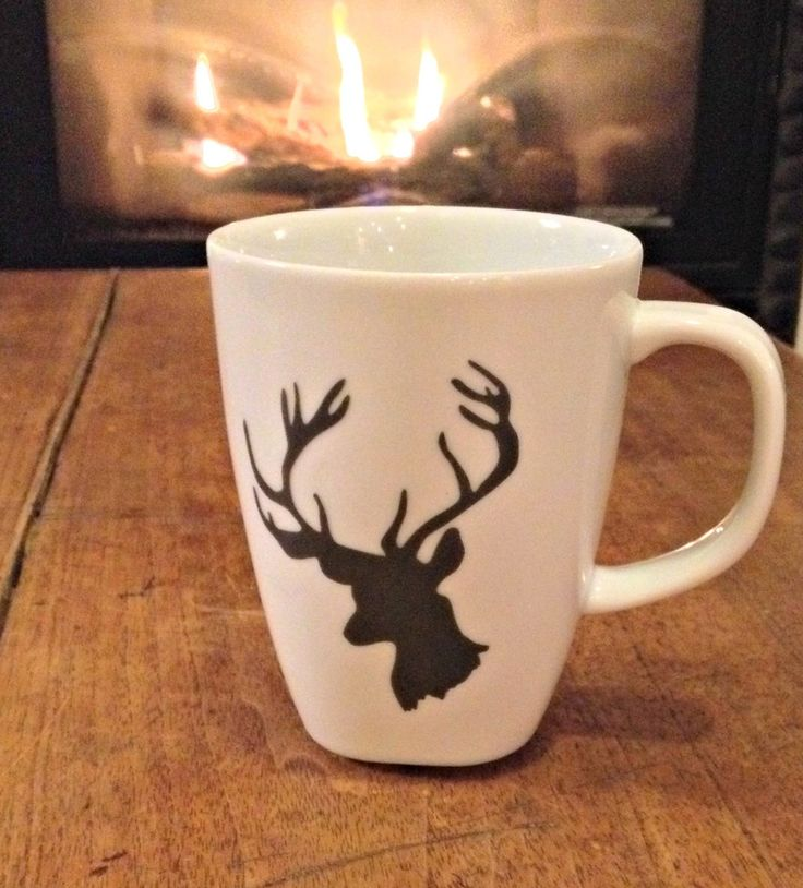 Deer Coffee Mug...I should get this for Garrett since he now loves coffee and irish creme lol