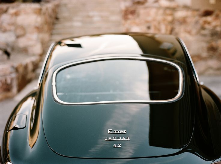 The Oldie But Goodie - megadeluxe: Jaguar E-Type by Andrew Paynter