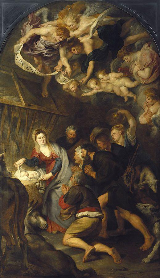 Pokłony pasterzy -Rubens