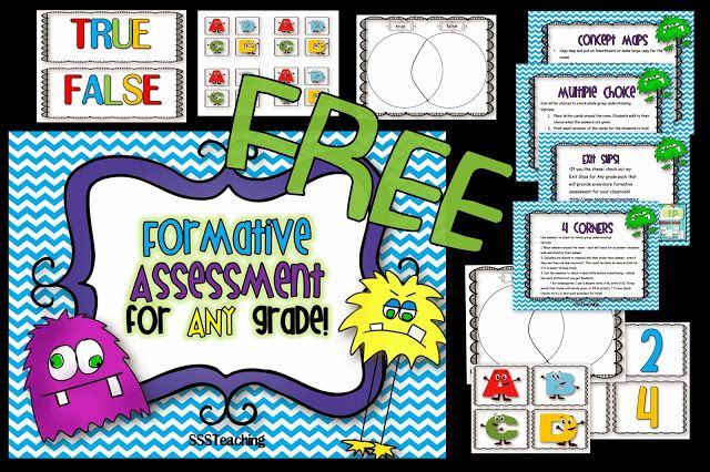 FREE Formative Assessment for ANY Grade